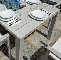 Stoły Ogrodowe Aluminiowe I Metalowe Komplety Obiadowe Dekkor